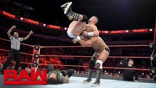 Roman Reigns & Bobby Lashley vs. The Revival: Raw, July 2, 2018