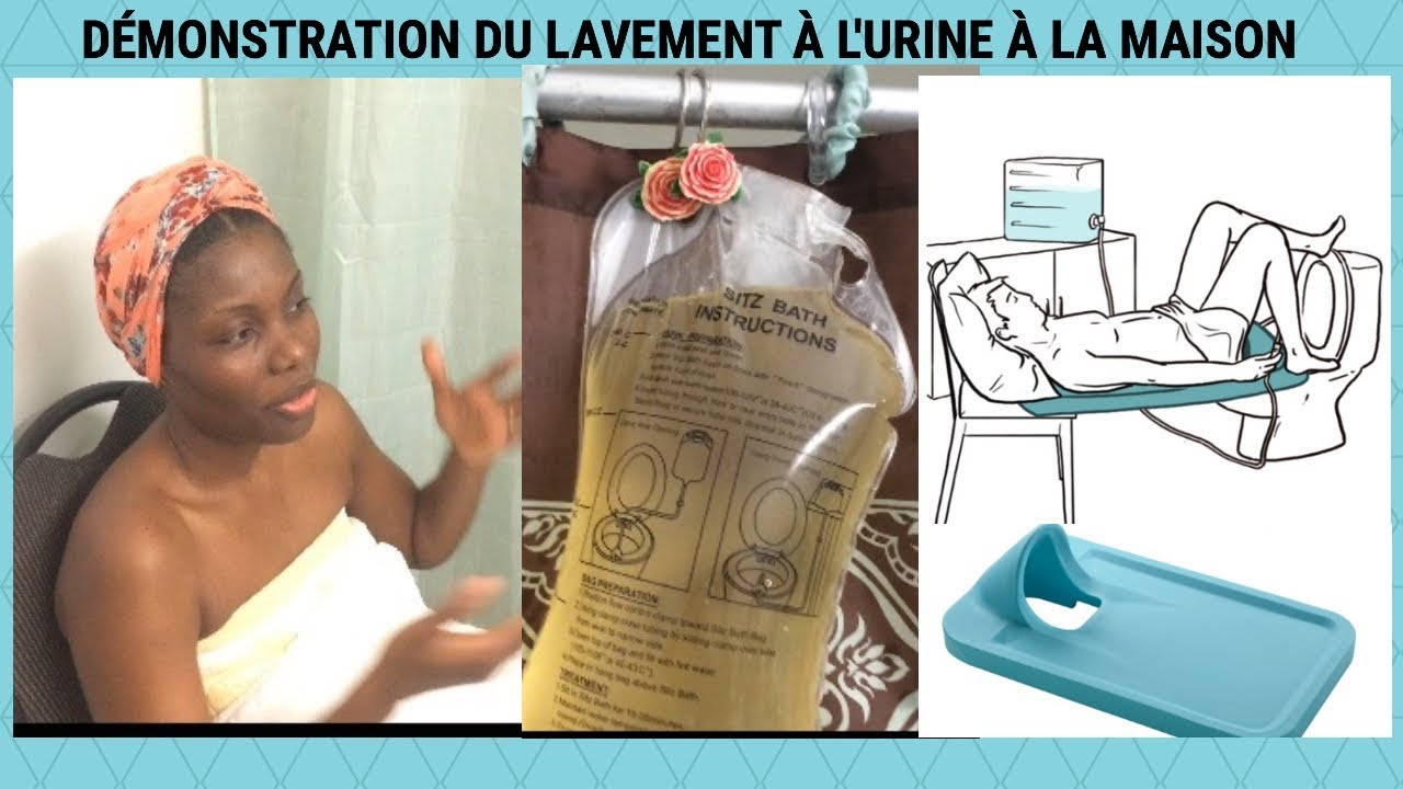 D monstration de comment faire le lavement l 39 urine la for 7 a la maison generique