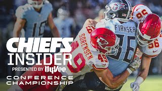 Inside the AFC Championship vs. Titans | Hy-Vee Chiefs Insider