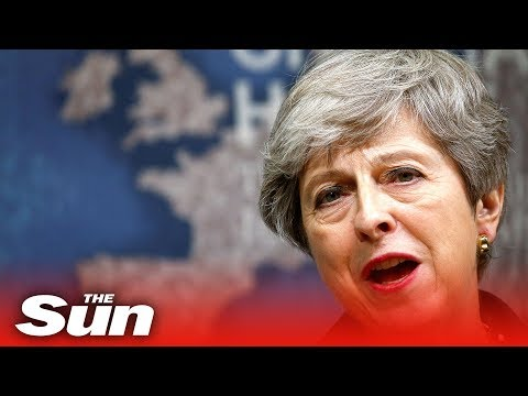 Theresa May gives her final speech as PM | Live replay