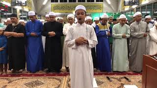 Adik Faris Umur 13 Tahun . Imam Terawih Di Masjid