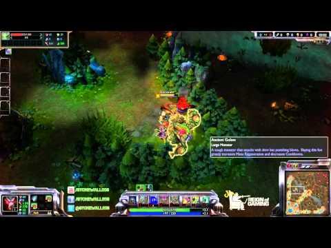 League Of Legends - Season 4 - Jungle - Warwick - Ganking - Clear Time