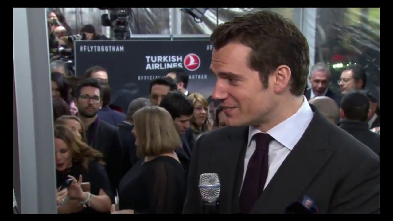 Batman V Superman Dawn Of Justice Interviews With Henry Us Nyc