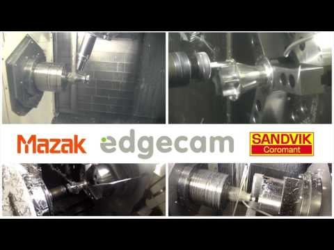Bicycle Wheel Hub Machining on MAZAK i200ST | Edgecam