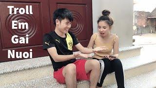 Hưng Vlog - Làm Ảo Thuật Troll Em Gái Nuôi Cười Không Nhặt Được Mồm