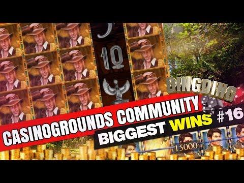 CasinoGrounds Community Biggest Wins #16 - 동영상