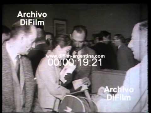 DiFilm - Graciela Borges Parte Rumbo a Europa (1959)