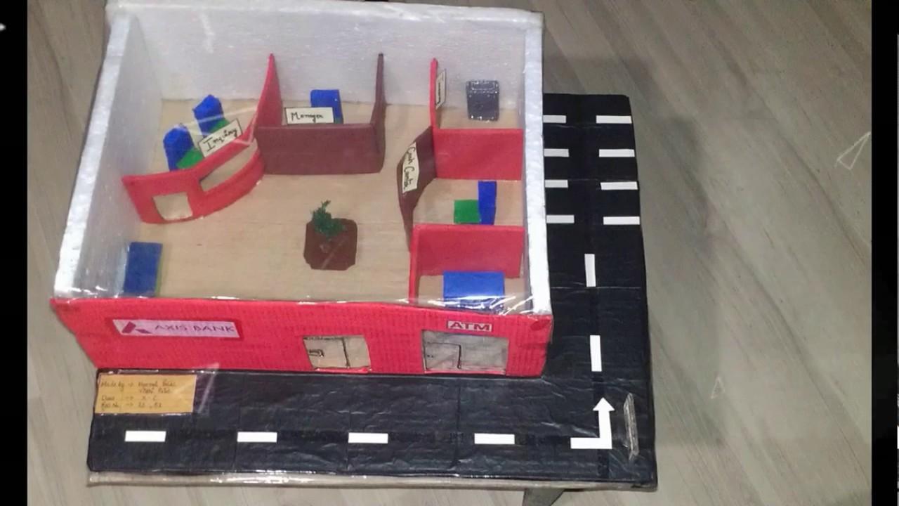 Bank model for school - YouTube