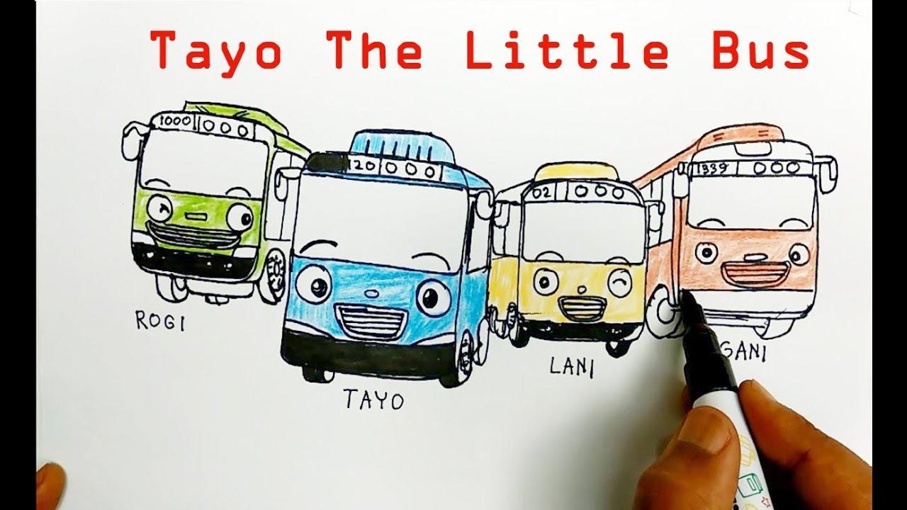88+ Gambar Tayo Dan Kawan Paling Keren