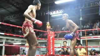 51 Year Old Man Gets Inspiring TKO In 100,000 Baht Muay Thai Challenge Match - AKA Thailand Phuket