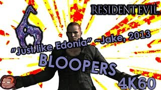 Resident Evil 6 Bloopers