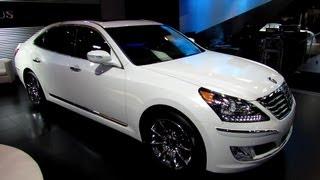 2013 Hyundai Equus Exterior and Interior Walkaround 2013 Toronto Auto Show 2013 CIAS
