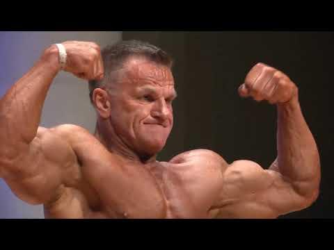 Men Bodybuilding Over 55 Years Over 90kg IFBB World Master 2019