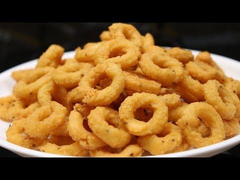 Chekodi Recipe | How to Make Crispy and Tasty Cegodilu Recipe
