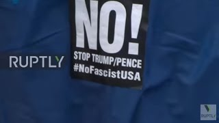 USA  Protesters rally against Trump's 'fascist regime'