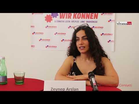 Avusturya Secimlerinde Türkiye Kökenli KPÖ Milletvekili Adayi Dr.Zeynep Arslan