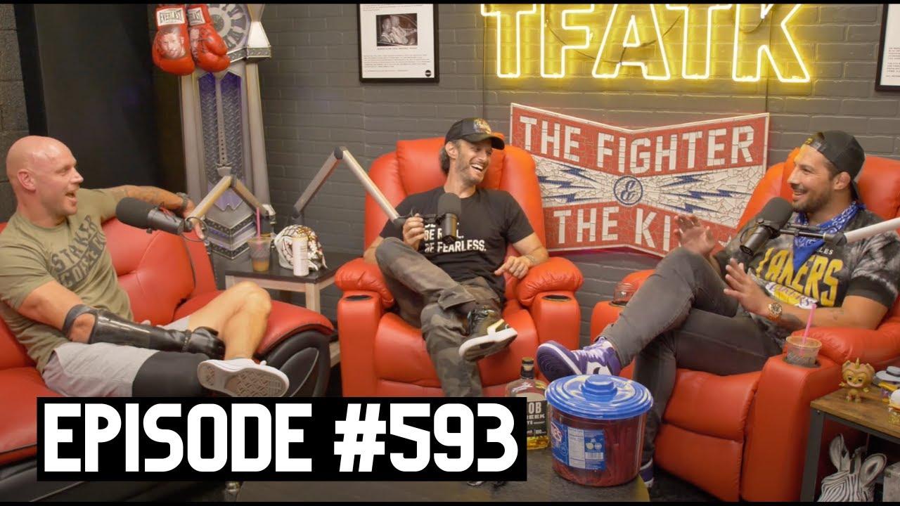The Fighter and The Kid - Episode 593: SHARK WEEK Paul De Gelder & Josh Wolf