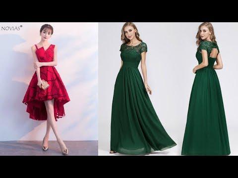 latest-trendy-usa-women's-prom-dress-2019||new-sexy-girl's-party-dress