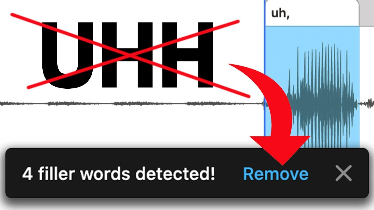 How to INSTANTLY Remove Ums & Uhs from Your Videos & Podcasts