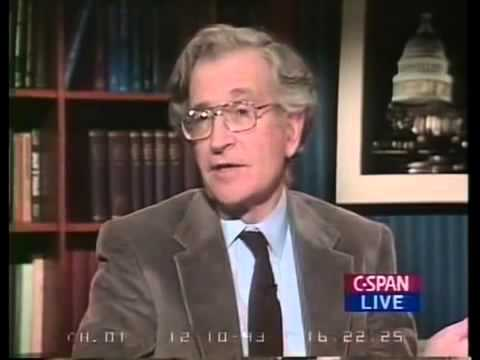 1993 Interview with Noam Chomsky on how NAFTA is not real Free Trade