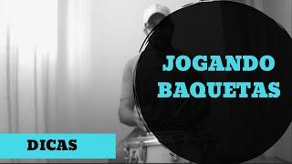 Video Aula  Maikon Máximo ( Jogando baquetas)
