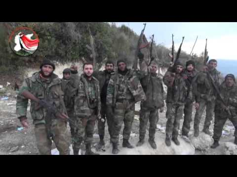 Syria, Latakia, Syrian Arab Army/National Defence Forces Message to the Terrorist
