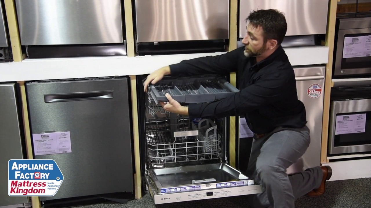 Appliance Factory Reviews Exclusive Bosch Dishwasher