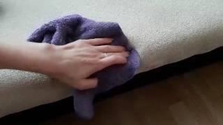 Как отчистить мягкую мебель без химии. Салфетка Инволвер. микроволокно.GreenWay.