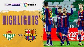 Real Betis 2-3 Barcelona | LaLiga 20/21 Match Highlights