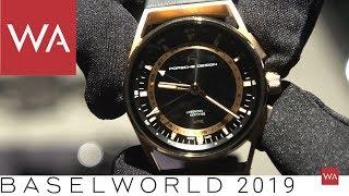 Baselworld 2019: Hands-on the Porsche Design 1919 Globetimer UTC