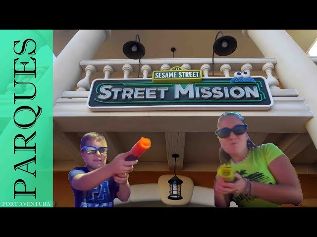 Sesame Street: Street Mission | Port Aventura World | Salou Tarrragona