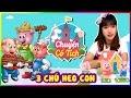 Ba chú heo con | Three little Piggies | Vannie In Wonderland | Fairy Tales