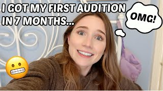 I GOT MY FIRST AUDITION IN LONDON IN 7 MONTHS...VLOG | Georgie Ashford