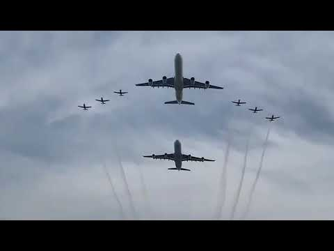 Presidential Inauguration Flypast