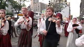 Festivāla BALTIKA 2012 dalibnieku gājiens -1- 00548.MTS