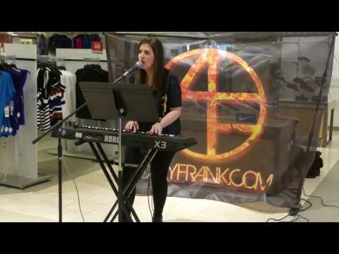 Aly Frank performing Cold Water by Justin Bieber, at Macy's. http://alyfrank.com