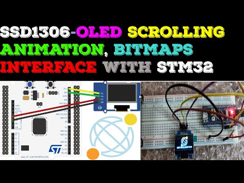 SSD1306 OLED and STM32 || 128x64 || SW4STM || CubeMX - YouTube