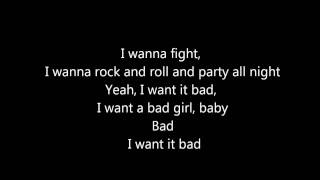 Bad - The Cab (Lyrics)