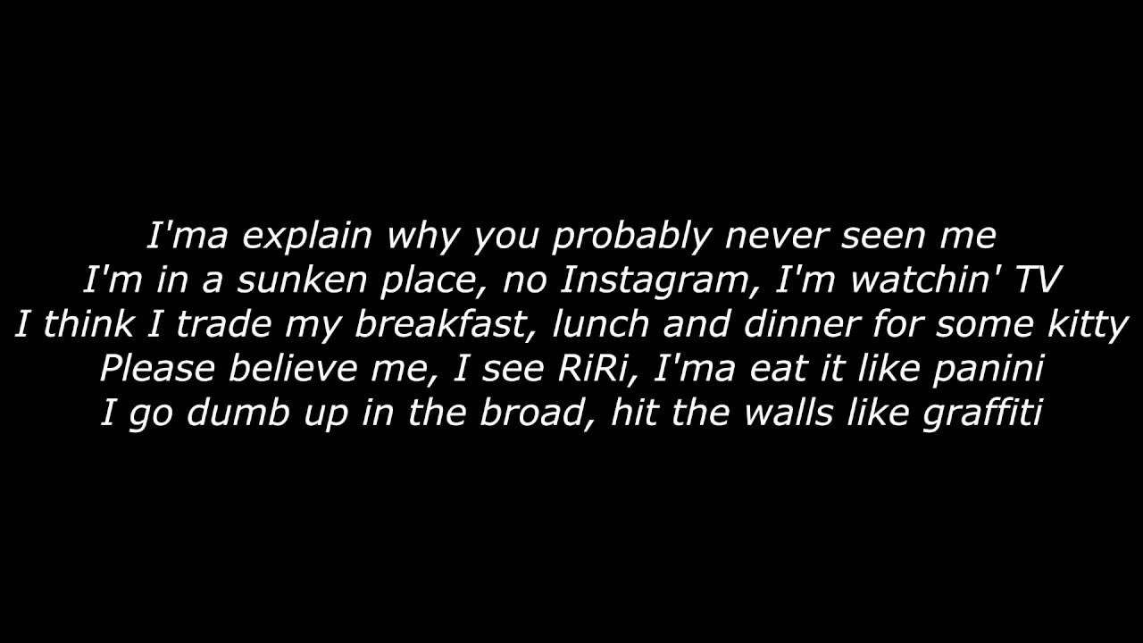 Find song with these lyrics