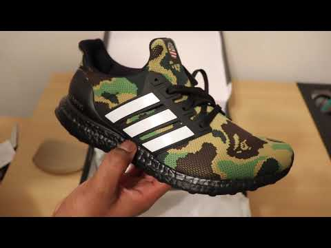 $400 Sneaker Pickup| Adidas X Bape