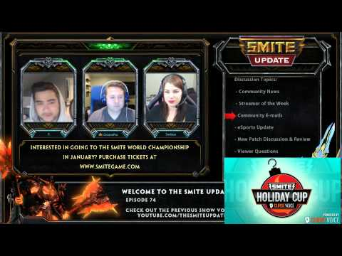 Smite Update Ep.74 - XBOX One at SWC, LOADS of eSports News, New God & More
