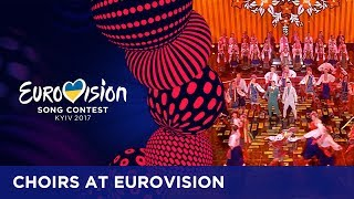 When a million voices come together: Choirs at the Eurovision Song Contest