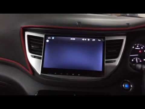 hyundai tucson 2017 installed android in car player. Black Bedroom Furniture Sets. Home Design Ideas