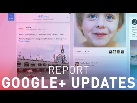 Google I/O 2013: Google+ bets on better photos and a redesign to keep you around