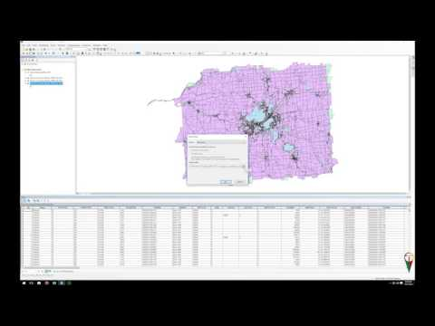 ArcMAP Attribute Table Export To DBase (.dbf) File To Excel