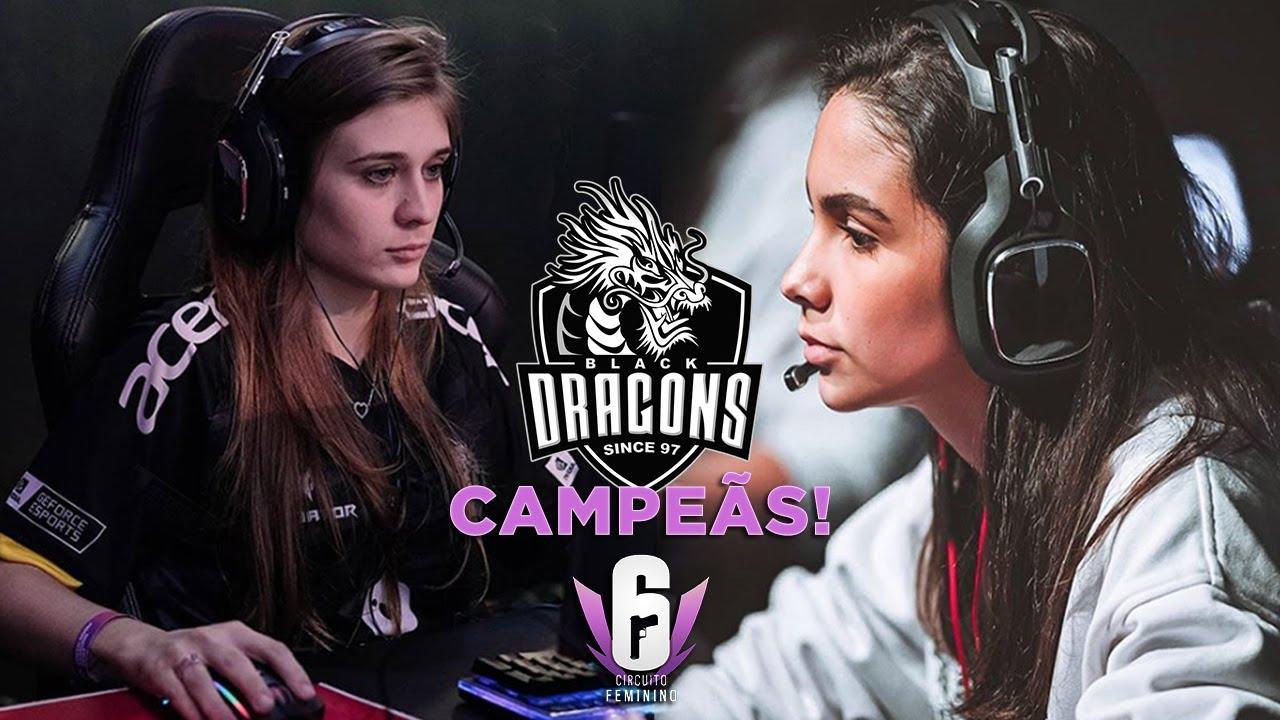 Campeãs Invictas do Circuito Feminino - Black Dragons Highlights