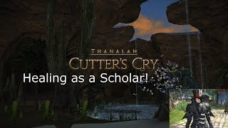 Final fantasy XIV - Cutters Cry and a fail at a SCH quest.
