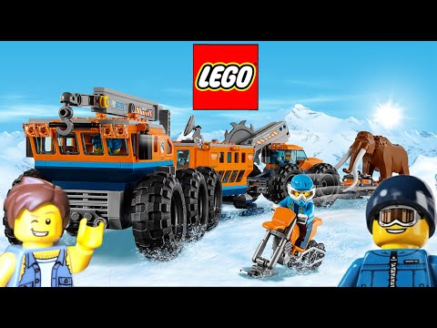LEGO 🌎 Haul set 60195 Arctic Mobile Exploration Base.Unboxing review ! Frozen 🥶 Wolly Mammoth !