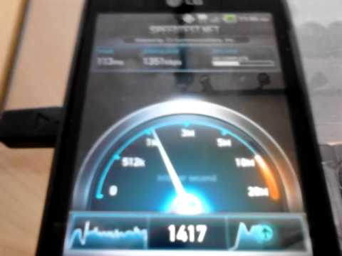 Metropcs lg esteem 4g speed test