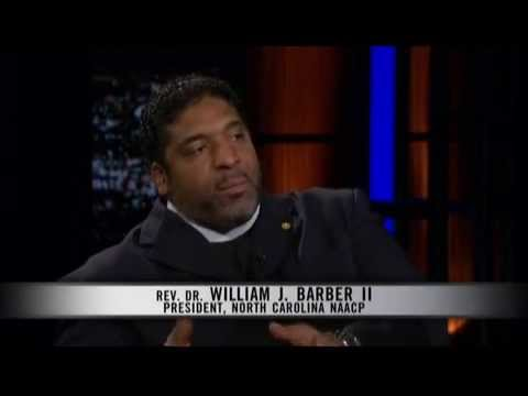 "Rev. William Barber II Talks Moral Mondays on HBO's ""Real Time"" with Bill Maher"
